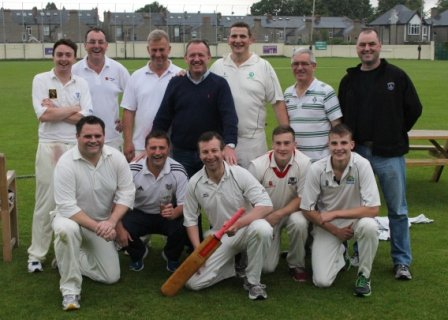 Cricket team v CYM